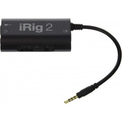 IK MULTIMEDIA iRig2INTERFACCIA PER CHITARRA PER IPHONE, IPOD TOUCH, IPAD, MAC