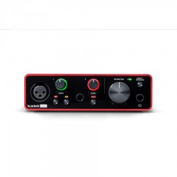 FOCUSRITE SCARLETT SOLO SCHEDA AUDIO 2 IN / 2 OUT USB