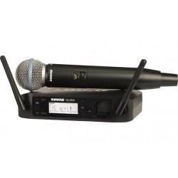 SHURE GLXD24E/BETA58 RADIOMICROFONO PALMARE DIGITALE