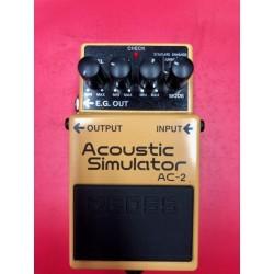 BOSS AC2 Acoustic simulator Pedale Effetto USATO