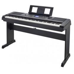 YAMAHA DGX660B PIANOFORTE DIGITALE 88 TASTI CON RITMI,STAND INCLUSO