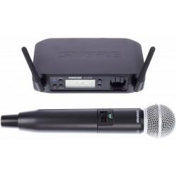 SHURE GLXD24E/SM58 RADIOMICROFONO PALAMARE DIGITALE