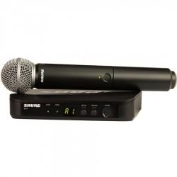 SHURE BLX24E/SM58 RADIOMICROFONO