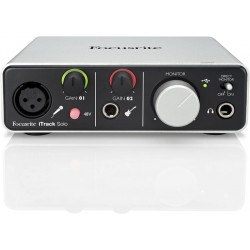 FOCUSRITE iTrack SoloINTERFACCIA AUDIO PER PC/MAC E IPAD