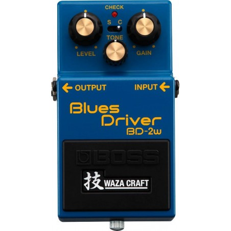 USATO BOSS BD-2W BLUES DRIVER (WAZA CRAFT) OVERDRIVE X CHITARRA