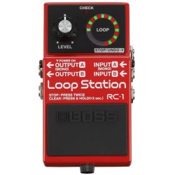 BOSS RC1 PRDALE EFFETTO  LOOP STATION