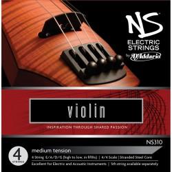NS DESIGN NS310 BY D\'ADDARIO MUTA DI CORDE PER VIOLINO 4/4