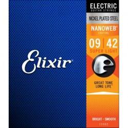 ELIXIR 12002 CORDE PER CHITARRA ELETTRICA 009-042