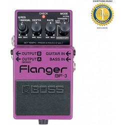 BOSS BF 3 EFFETTO FLANGER A PEDALE PER CHITARRA