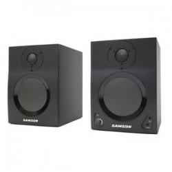 SAMSON MediaOne BT4 COPPIA MONITO DA STUDIO 40W CON BLUETHOOTH