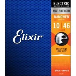ELIXIR 12052 CORDE PER CHITARRA  ELETTRICA 010-046
